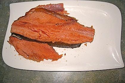 Heißräuchern von Fisch 11