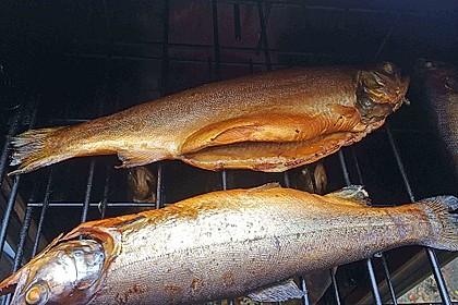 Heißräuchern von Fisch 6