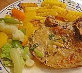 Koteletts in Knoblauchsauce (Bild)