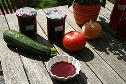 Ketchup aus Johannisbeeren 1