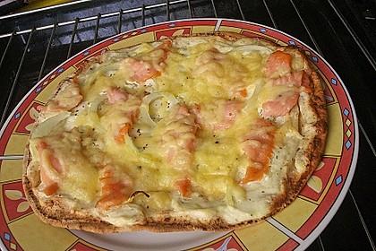 Karins Lachspizza 1