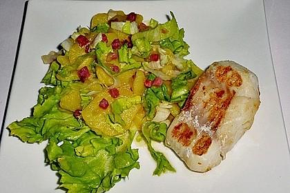 Kartoffelsalat mit Speck und Endivie 1