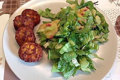 Kartoffelsalat mit Speck und Endivie
