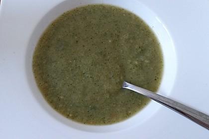 Zucchini - Frischkäse - Suppe