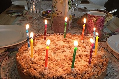 Kirsch-Himbeer-Kuchen mit Kokosstreuseln 34