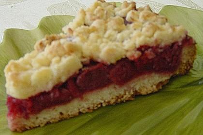 Kirsch-Himbeer-Kuchen mit Kokosstreuseln 64