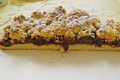 Kirsch-Himbeer-Kuchen mit Kokosstreuseln 66