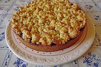 Kirsch-Himbeer-Kuchen mit Kokosstreuseln 26