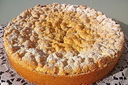 Kirsch-Himbeer-Kuchen mit Kokosstreuseln 8