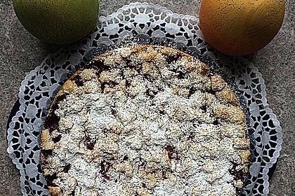 Kirsch-Himbeer-Kuchen mit Kokosstreuseln 54