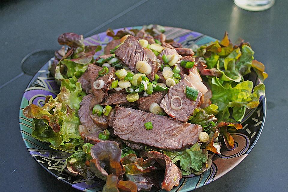 thail ndischer salat mit rindfleisch rezept mit bild. Black Bedroom Furniture Sets. Home Design Ideas