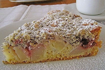 Apfel - Birnen - Kuchen 4