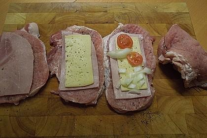 Gefüllte Schnitzel italienische Art 2