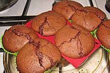 Gebackenes Mousse au Chocolat