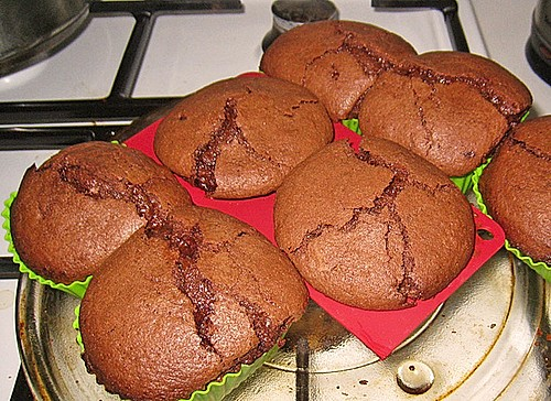 gebackenes mousse au chocolat rezept mit bild von ubu1978. Black Bedroom Furniture Sets. Home Design Ideas