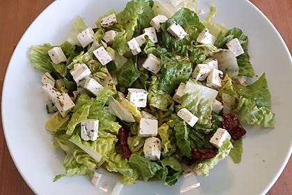 Antipasti - Salat mit Schafskäse und Pesto - Dressing 8