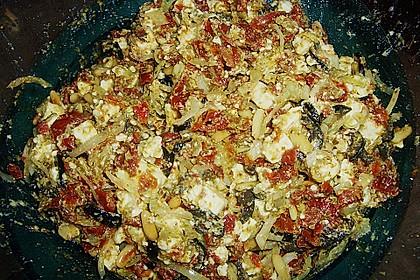 Antipasti - Salat mit Schafskäse und Pesto - Dressing 12