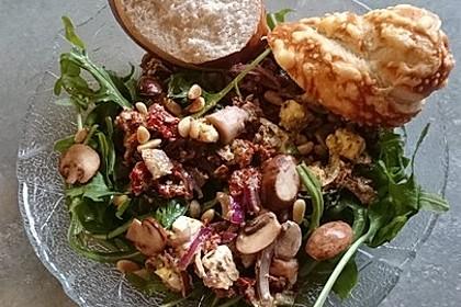 Antipasti - Salat mit Schafskäse und Pesto - Dressing 7