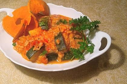Zucchini - Reis - Pfanne a la Helene 7