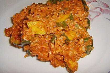 Zucchini - Reis - Pfanne a la Helene 16