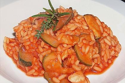 Zucchini - Reis - Pfanne a la Helene 8