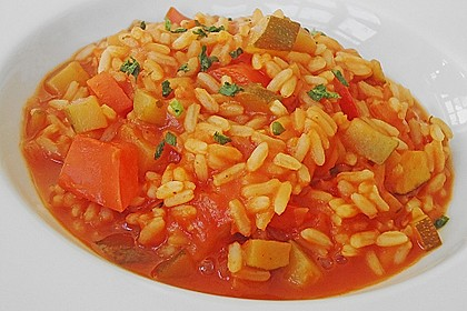 Zucchini - Reis - Pfanne a la Helene 6