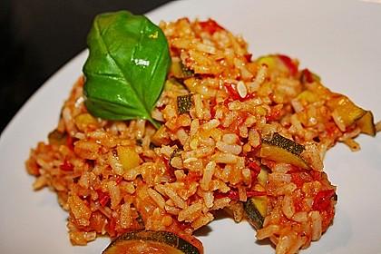 Zucchini - Reis - Pfanne a la Helene 3