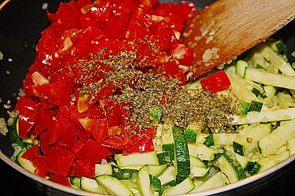 Zucchini - Reis - Pfanne a la Helene 13