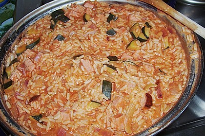 Zucchini - Reis - Pfanne a la Helene 32