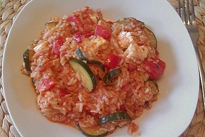 Zucchini - Reis - Pfanne a la Helene 33