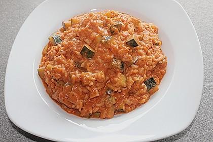 Zucchini - Reis - Pfanne a la Helene 10