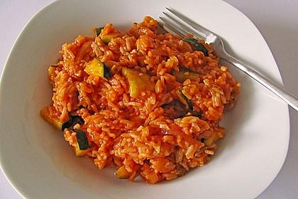 Zucchini - Reis - Pfanne a la Helene 5