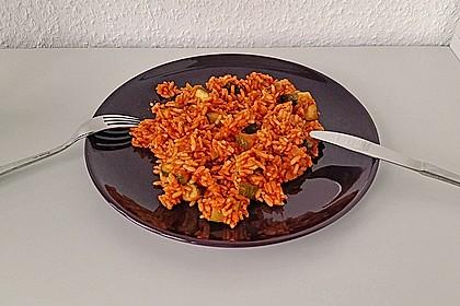 Zucchini - Reis - Pfanne a la Helene 15