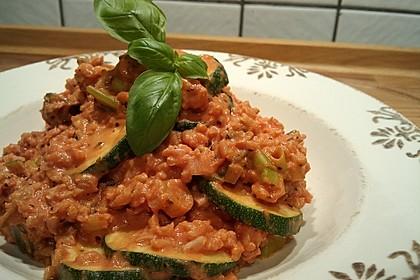 Zucchini - Reis - Pfanne a la Helene 27