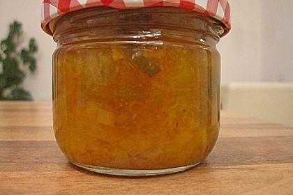 pfirsich curry chutney rezept mit bild von bushcook. Black Bedroom Furniture Sets. Home Design Ideas