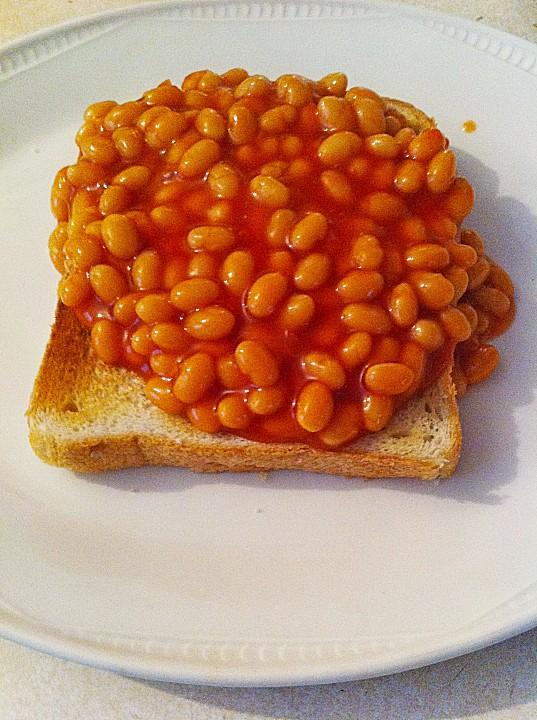 Beans+On+Toast Beans on Toast (Rezept mit Bild) von handsabumsadaisy ...