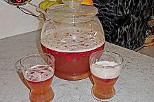 Himbeer - Weißbier - Bowle