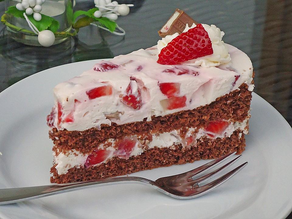 Yogurette-Torte (Rezept mit Bild) von angelkrissi | Chefkoch.de