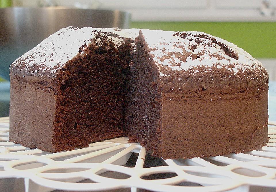 Schokoladenkuchen mit 12 eiern