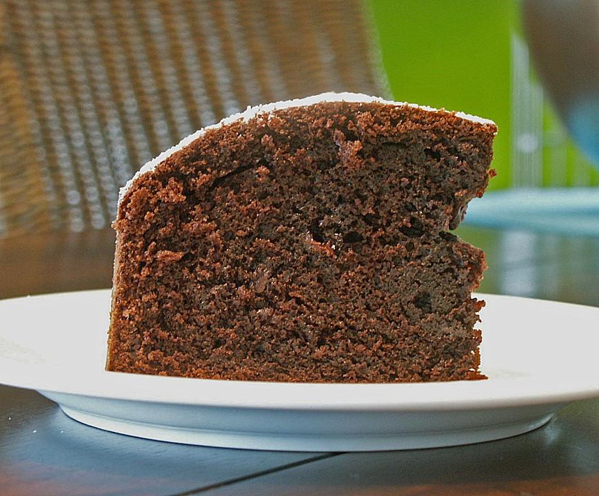 Kleiner schokoladenkuchen backen