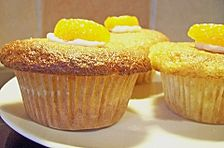 Locker - leichte Mandarinen - Joghurt - Muffins