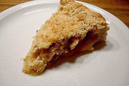 Veganer Apfel - Streusel - Kuchen 12