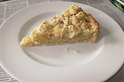 Veganer Apfel - Streusel - Kuchen 3