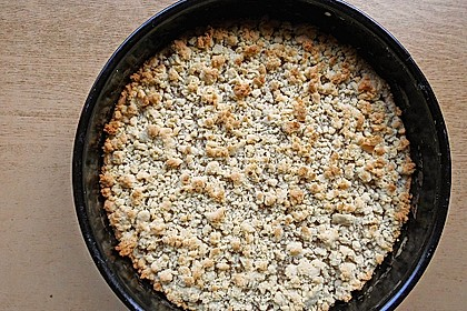 Veganer Apfel - Streusel - Kuchen 19