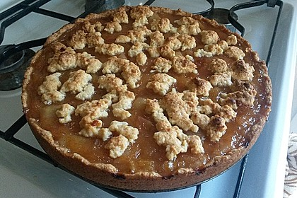 Veganer Apfel - Streusel - Kuchen 11