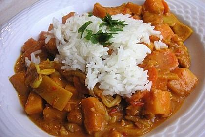 Kürbis - Curry