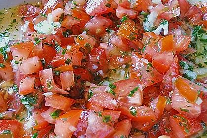 Spargel mit Tomaten - Vinaigrette und Ei 16