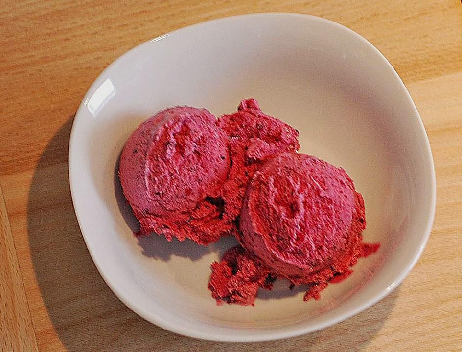 joghurt fruchteis rezept mit bild von mellenoire. Black Bedroom Furniture Sets. Home Design Ideas
