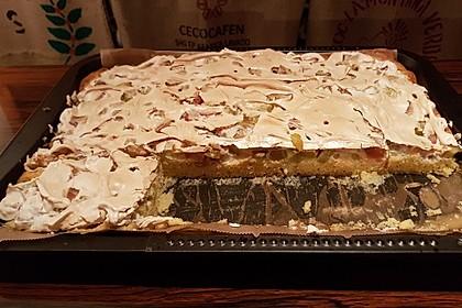 Rhabarber - Blechkuchen 9