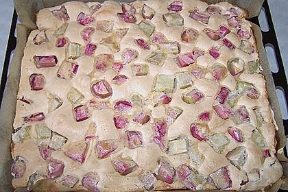 Rhabarber - Blechkuchen 11